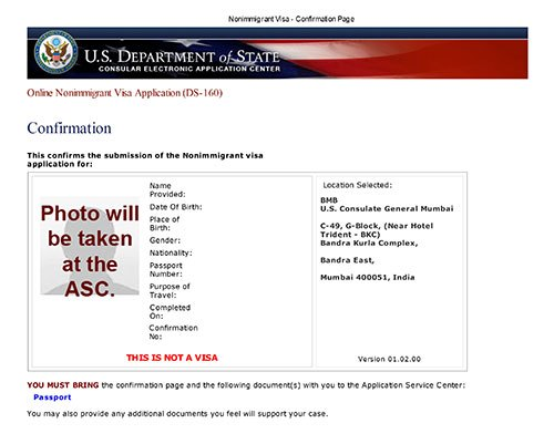 What is DS – 160: Online Nonimmigrant Visa Application – MaaMento Blog